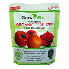 Jongs GrowBetter™ All-Purpose Organic Fertilizer