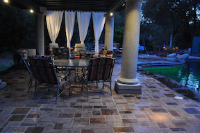 Embossed Concrete Patio
