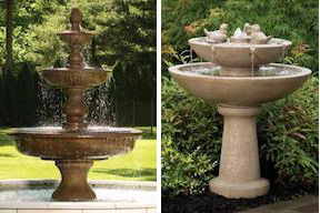 Fountains and Bird Baths